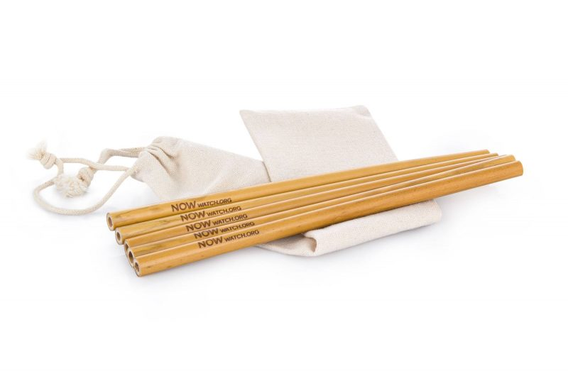 NOW bamboo straws